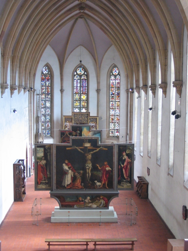 Chapel_of_Musée_d'Unterlinden_with_Isenheim_altarpiece