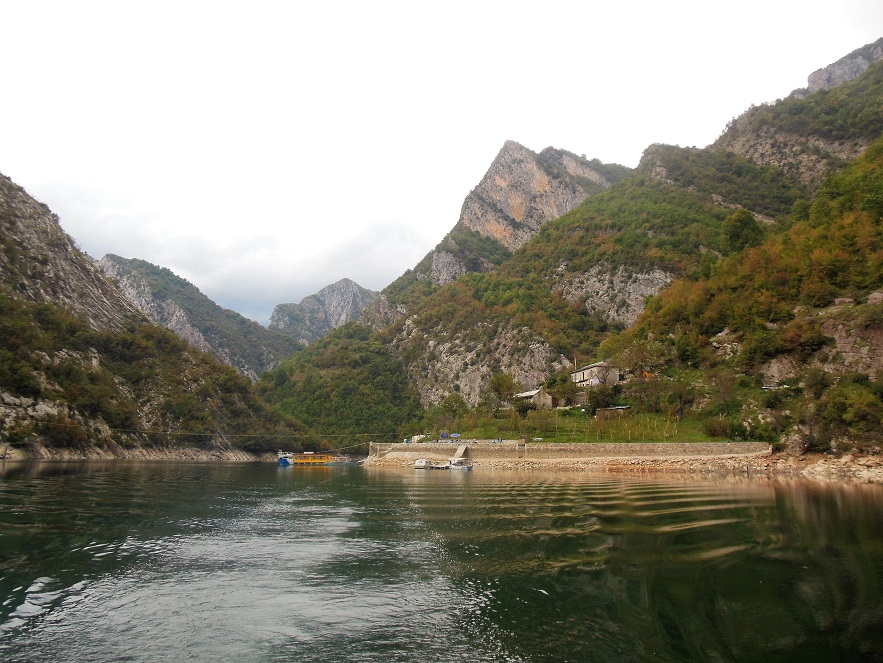 The View From Albania So Far Shkodr Lake Koman And That One