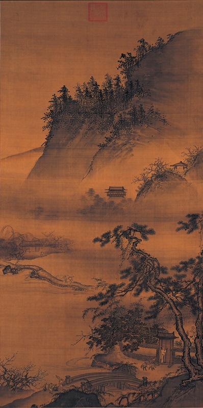 Dai_Jin-Traveling_in_Spring_Returning_at_Night