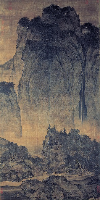 Fan_Kuan_-_Travelers_Among_Mountains_and_Streams