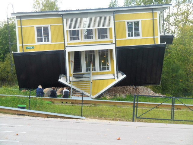 Tartu: Estonia: upside-down, sideways with a snail on top | Picnic ...